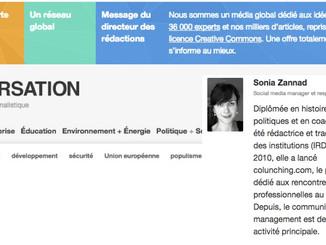 Au carrefour des disciplines : Sonia Zannad, Social Media Manager, The Conversation