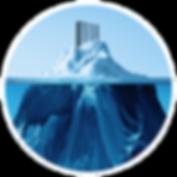 data center servers on an iceberg