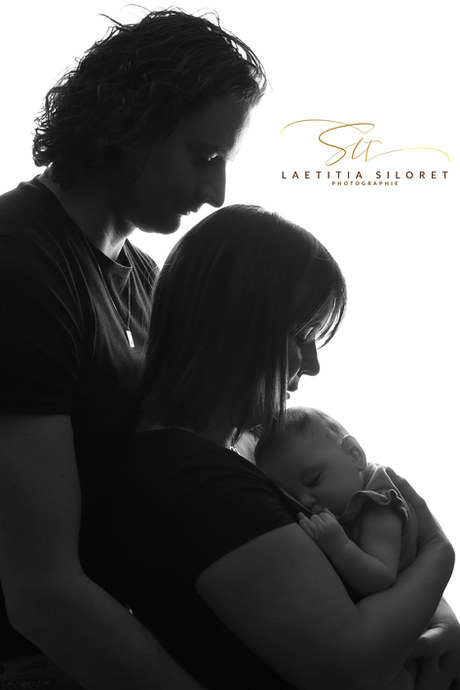 famille, nouveau-né, naissance