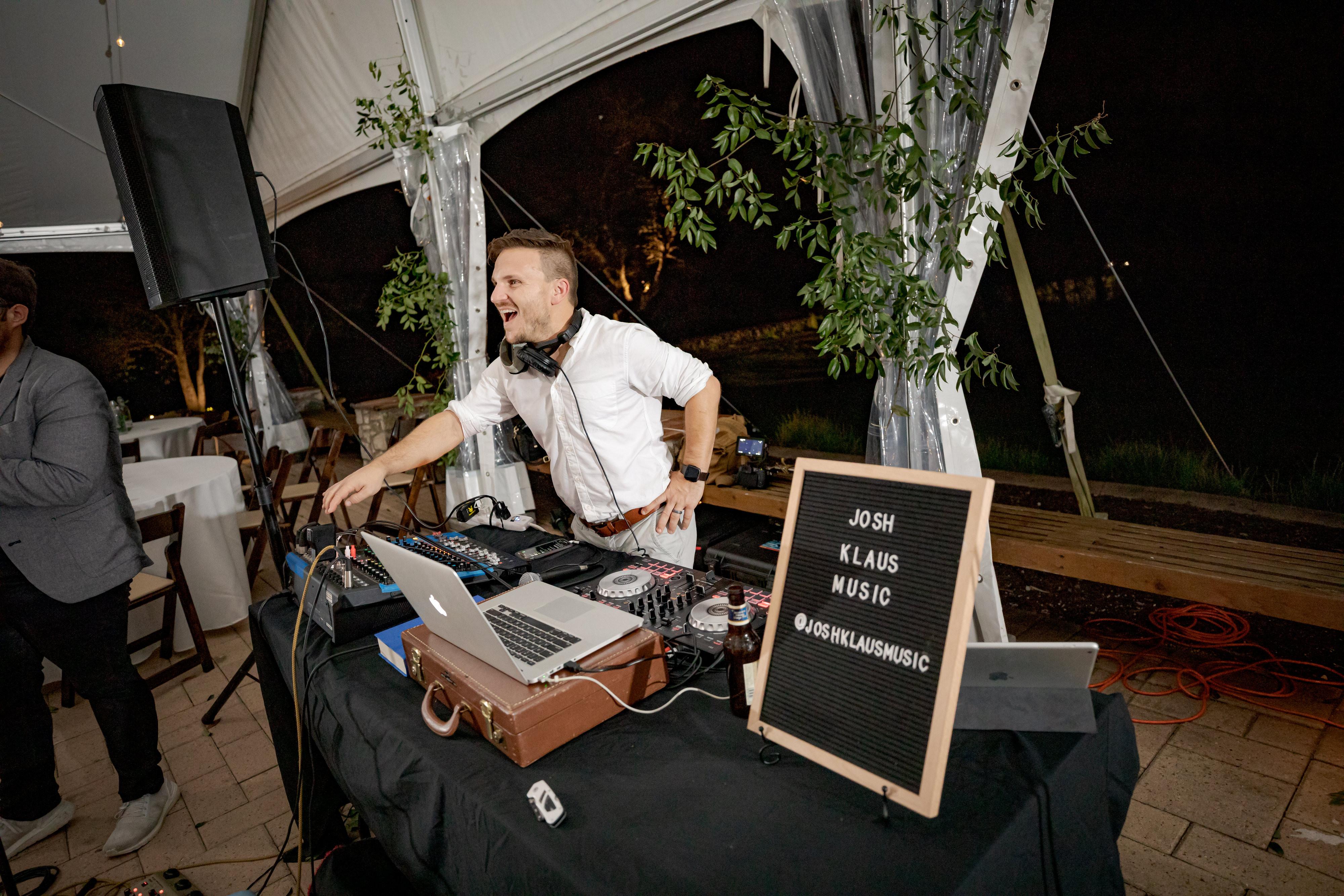 Ceremony+Cocktail Hour+Reception+DJ Set