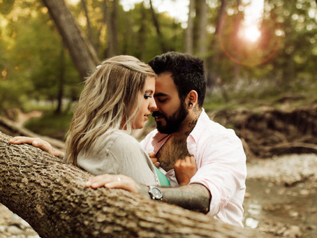 A Couple in the Woods