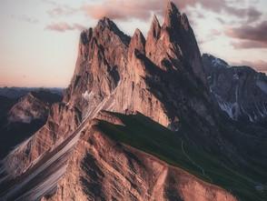 Montanhas que choram