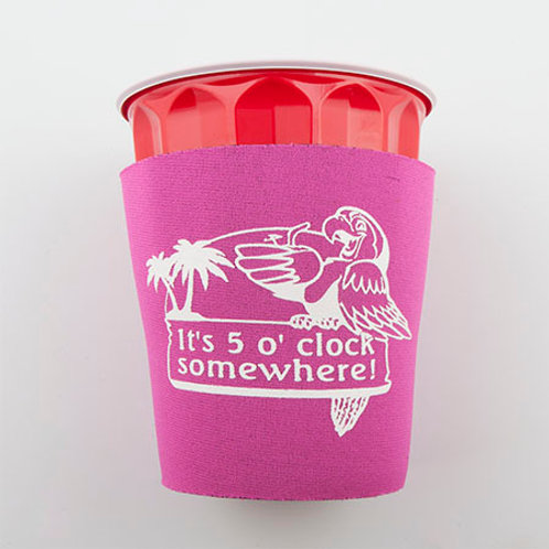 Solo Cup Koozie - Pink