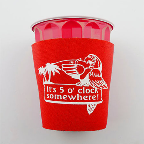 Solo Cup Koozie - Red