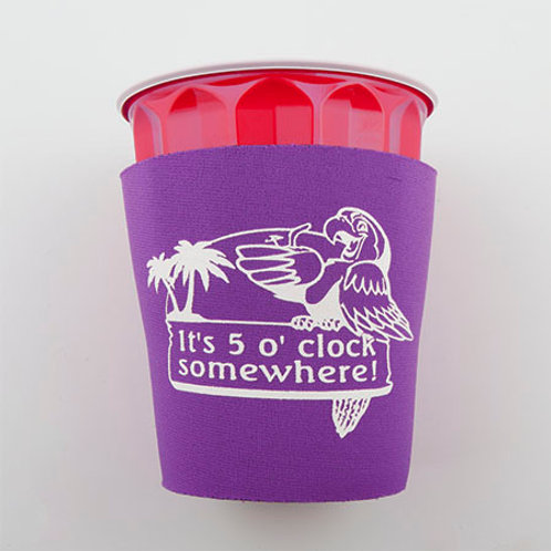 Solo Cup Koozie - Purple