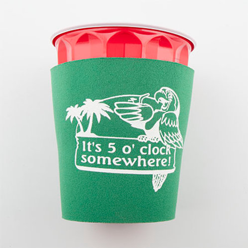 Solo Cup Koozie - Green