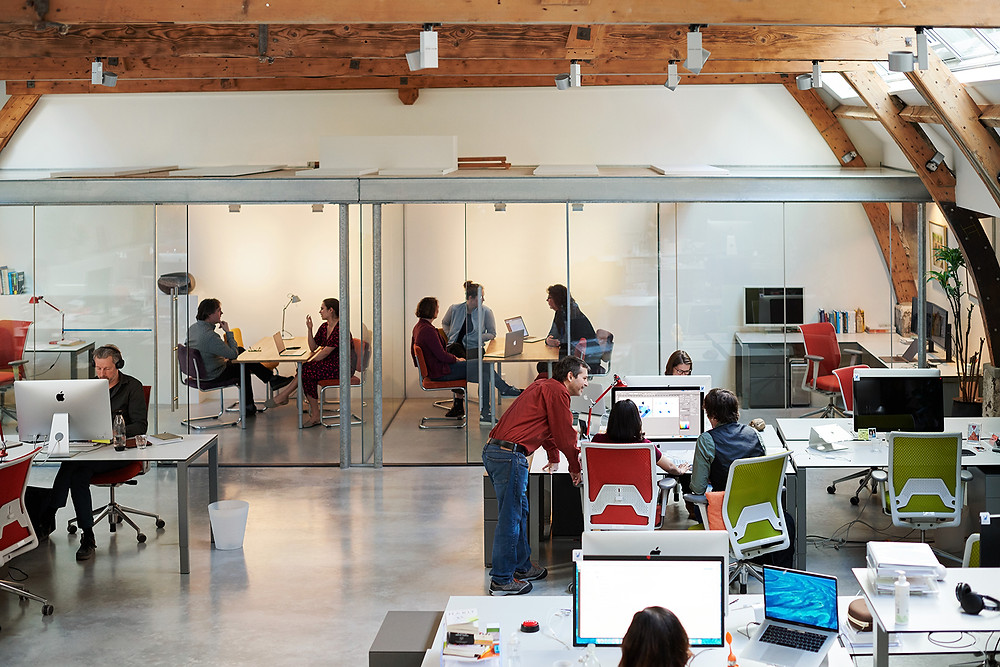 AssistiveWare has grown into a company of nearly 40 employees — most work in the Amsterdam office. Photo from Apple