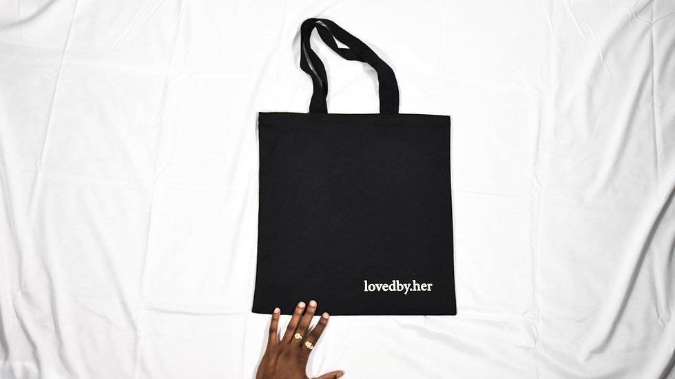 lovedbyher canvas bag