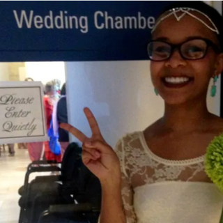 How one woman's wedding invitation ignited a battle for acceptance
