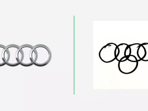 La gente dibujó logotipos de automóviles de memoria y los resultados son increíbles