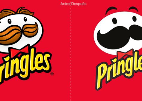 Mr.Pringles estrena nueva cara