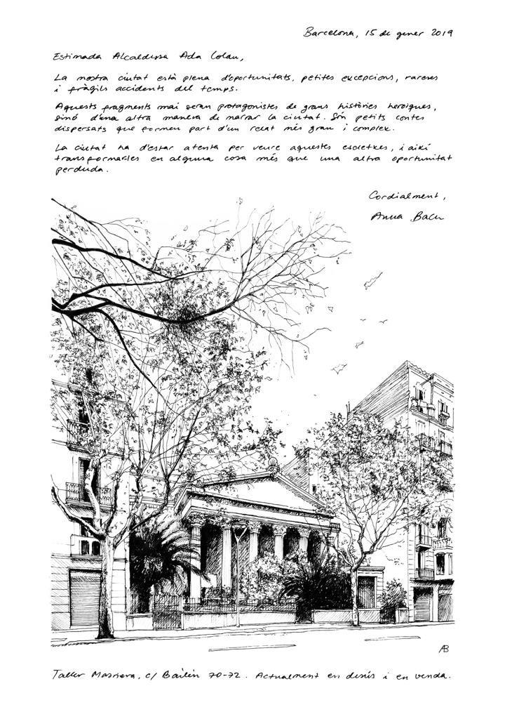 Carta Anna Bach a l'alcaldessa de BCN.jp