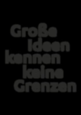 Große Ideen | UGWGROUP