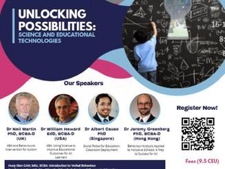 Malaysia Association for Behavior Analysis Symposium 2019 at Sunway University, Kuala Lumpur was awe