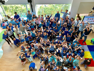 Today 2 April is the 12th Annual World Autism Awareness Day. THS students from the Wood Floor (Grade