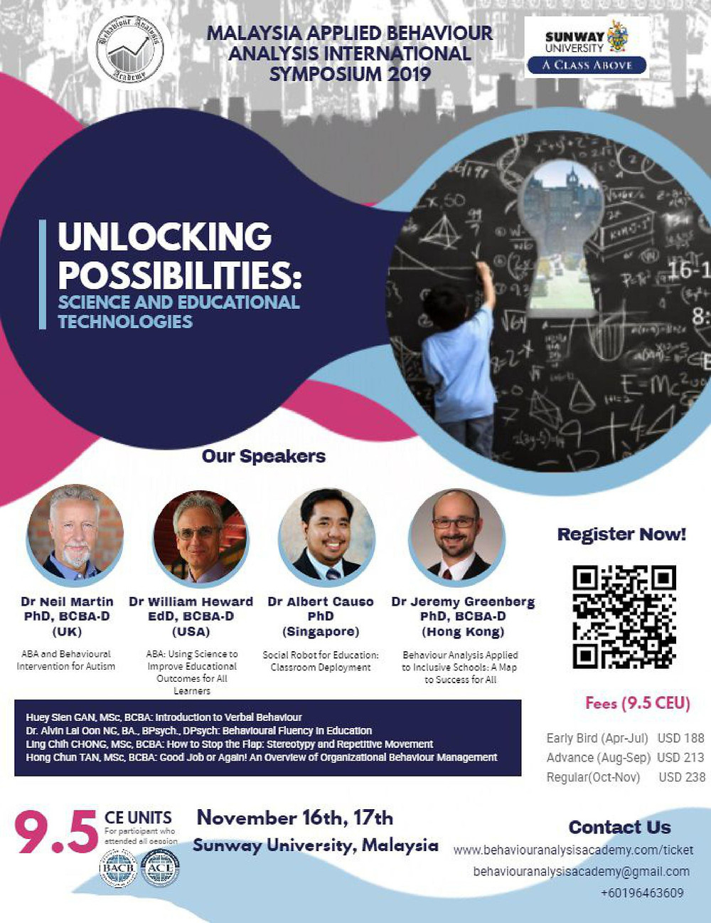Conference in KL Malaysia Nov 16-17 2019
