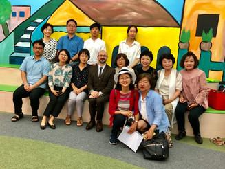 KABA Visits THS & TCI