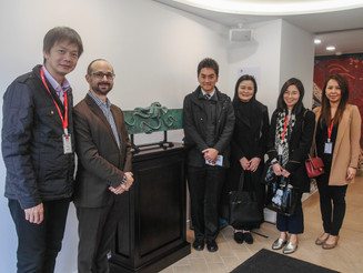 THS & TCI [Grove Campus] was visited by Professors from OUHK LiPACE this week.