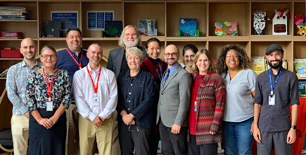 WASC Visiting Committee with the THS Leadership Directors