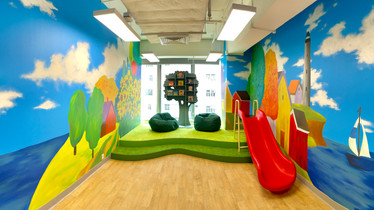 TCI's M Place Play Room is Ready for Action!