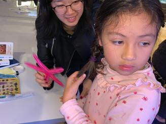 Our Kindergarten students from KTown enjoyed a visit to the Marine Science Centre in the Grove Campu