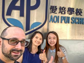 TCI visits AP School in Hung Hom