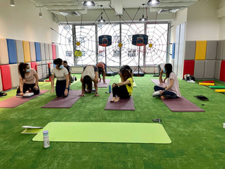 TCI Staff Yoga Class is every Monday thanks to Nathalie Yau, Certified Yoga Instructor.