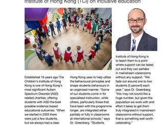 Inclusive Education in Hong Kong Living