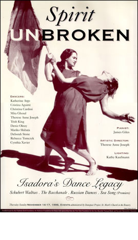 Isadora's Dance Legacy