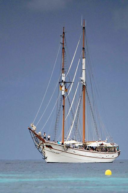 romantic wooden boat