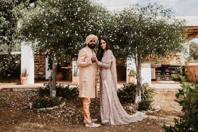 Indian wedding in Ibiza