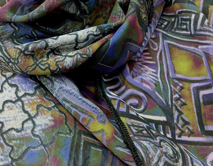 Ellie Shakiba-Violet scarf polyester-03.