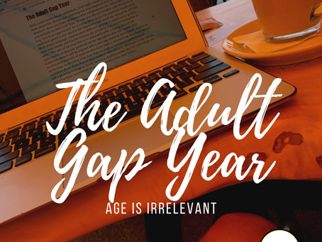 The Adult Gap Year