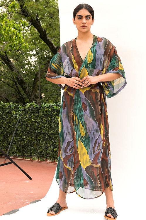 Kimo Dress Estampado Oleo