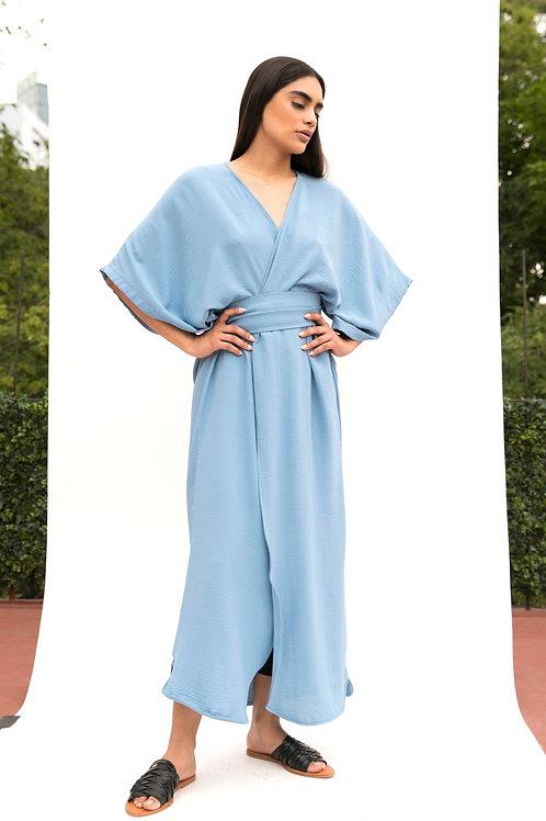 Kimo Dress Celeste
