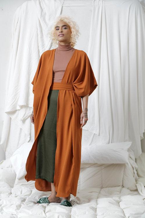 Kimo Dress Naranja Shedron