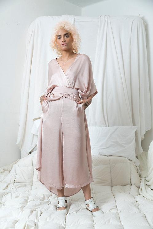 Conjunto Kimo Dress Seda Pale Rose
