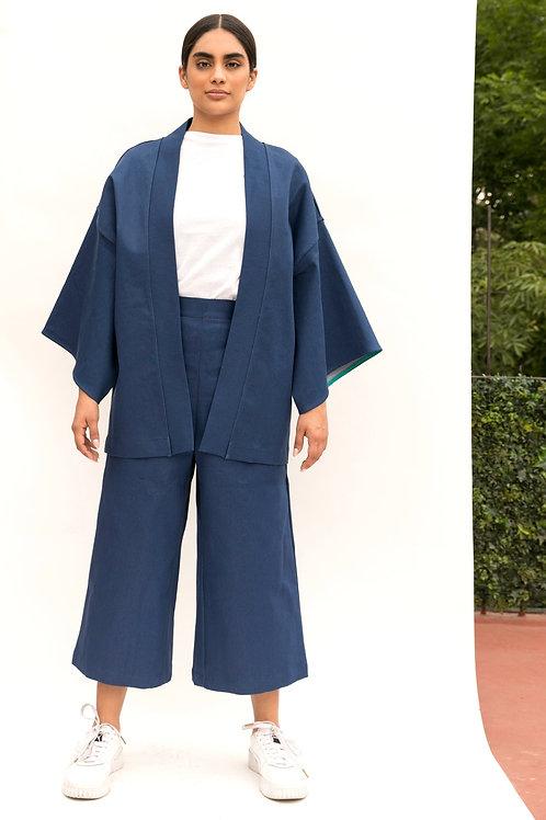 Yukata azul mezclilla