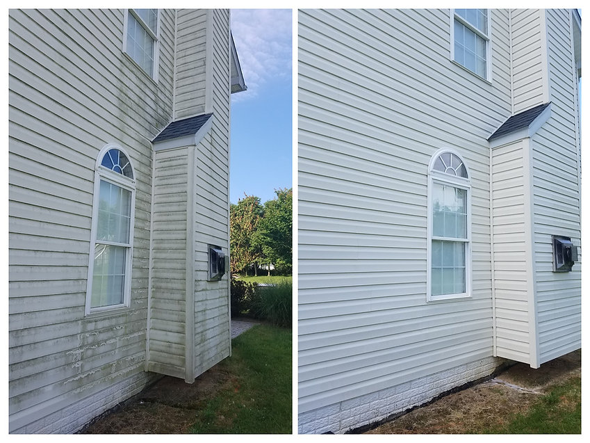Before And After Pics Roof And Siding Washing