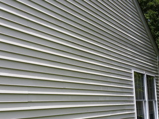 Beautiful day to clean vinyl siding