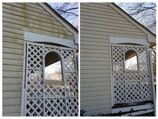 Vinyl siding cleaning in southern Anne Arundel County