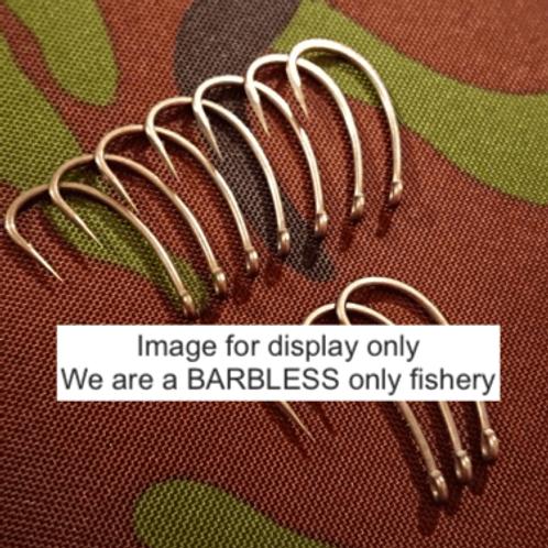 JPrecision Barbless Hooks