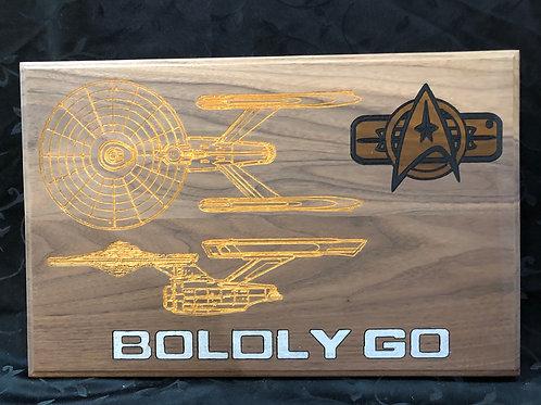 Boldly Go #2