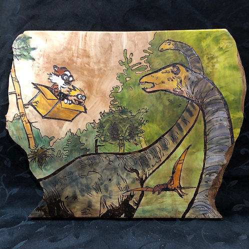 Calvin and Hobbes Dinos