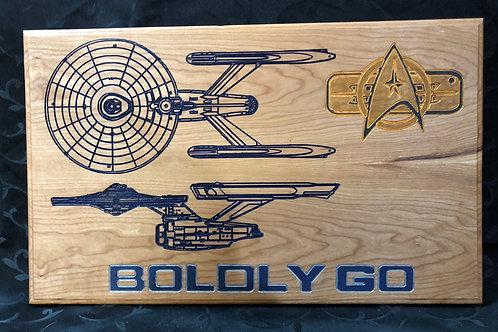 Boldly Go #3