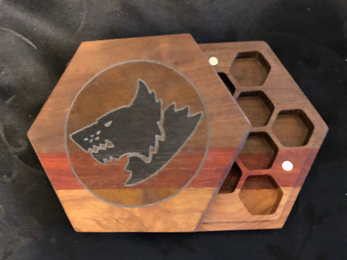Space Wolf Dice Box
