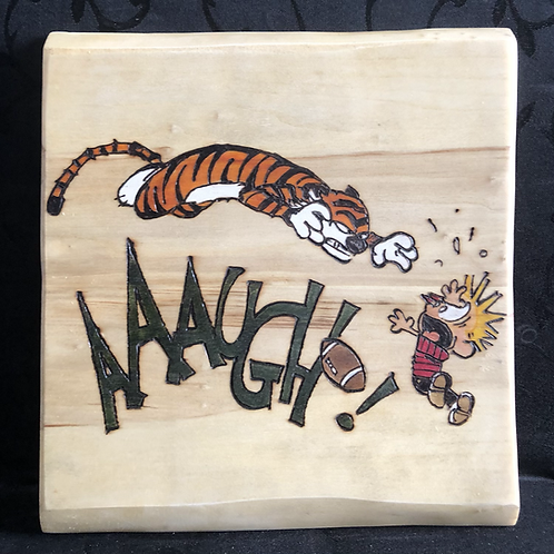 Calvin and Hobbes - Touchdown