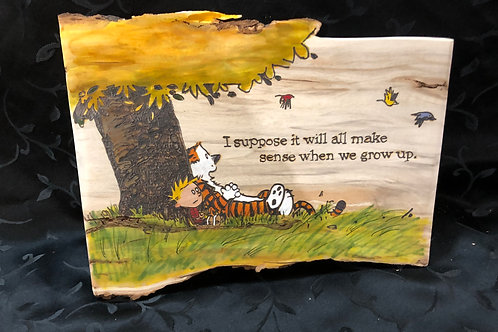 Calvin and Hobbes Tree Dream