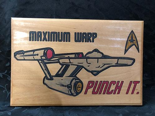 Maximum Warp - Punch it