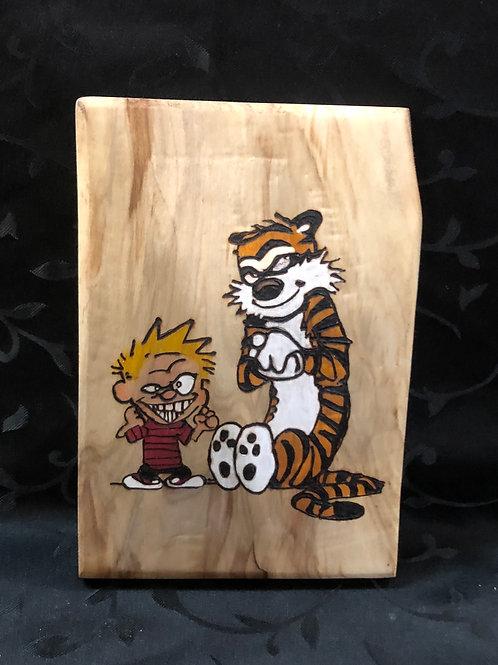 Calvin and Hobbes Scheming
